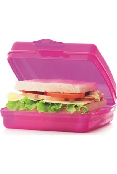 Tupperware Beslenme (Sandviç) Kutusu (Hasgül) Pembe