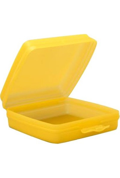 Tupperware Beslenme (Sandviç) Kutusu (Hasgül) Sarı