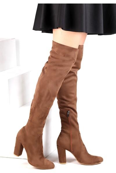 Pembe Potin Kahverengi Nubuk Çizme