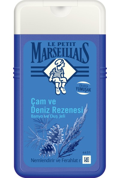 Le Petit Marseillais Duş Jeli Çam ve Deniz Rezenesi 250 ml