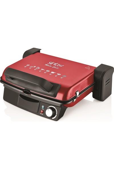 Sinbo SSM2536 Çıkabilir Plaka Tost Makinası ve Izgara