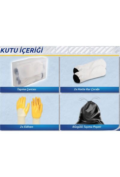 Matte Kar Çorabı® Classic / LARGE 225/45R/18 (Kanada Patentli)