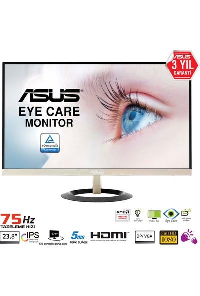 "Asus VZ249Q 23.8"" 5ms (Display+HDMI+D-SUB) FreeSync IPS Oyuncu Monitör"