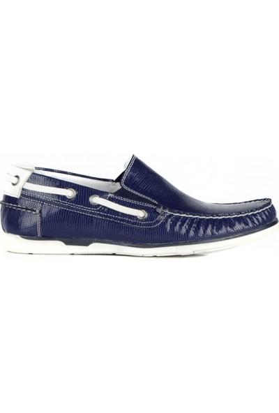 FootCourt Erkek Ayakkabısı Lacivert 39