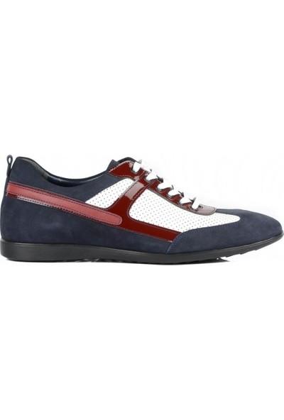 FootCourt Erkek Ayakkabısı Laci-Beyaz 41