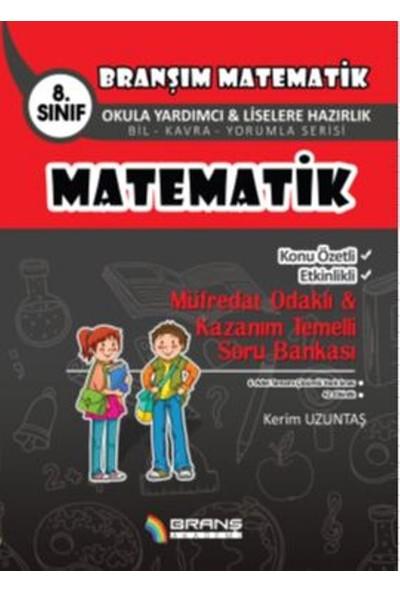 8. Sınıf Matematik Konu Özetli Etkinlikli Müfredat Odaklı & Kazanım Temelli Soru Bankası