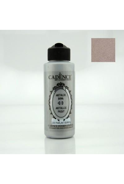 Cadence Parlak Gümüş Akrilik Ahşap Metalik Boya 120 ml