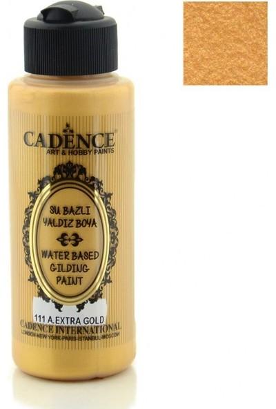 Cadence Antik Extra Altın Akrilik Ahşap Yaldız Boya 120 ml