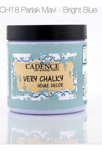 Cadence Parlak Mavi - Very Chalky Mobilya Boya 500 ml