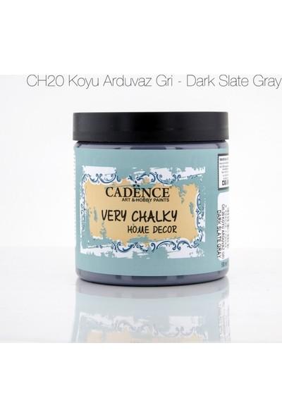 Cadence Koyu Arduvaz Gri - Very Chalky Mobilya Boya 500 ml