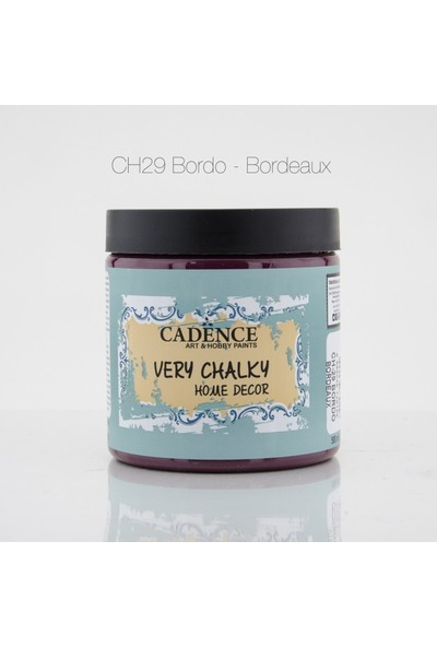 Cadence Bordo - Very Chalky Mobilya Boya 500 ml