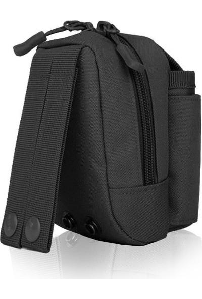 Protector Plus Mini Taktik Kamera Çantası - Siyah