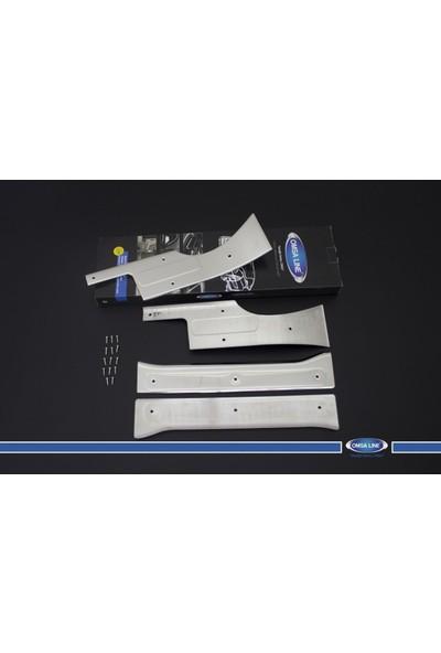 Citroen Nemo İç Kapı Eşiği 4 Parça Paslanmaz Çelik 2007-