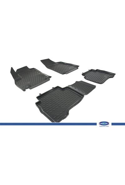 FIAT FIORINO/QUBO 2008- 3D Novline Paspas Siyah 4 Prç