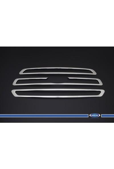 Ford Transit 2014- Ön Panjur 3 Prç. P.Çelik