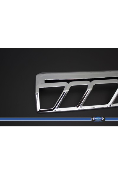 Ford Transit 2014- Stop Çerçevesi 2 Prç. Abs Krom
