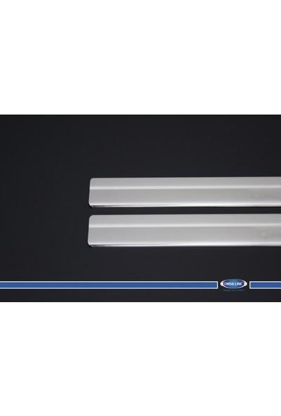 Nissan Qashqai +2 Kapı Eşiği 4 Parça Paslanmaz Çelik 2010-2014