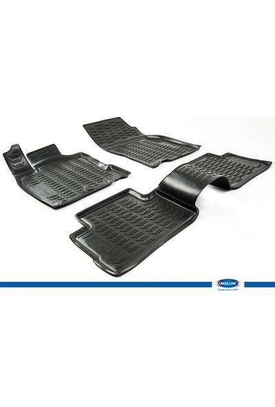 Nissan Qashqai 2014- 3D Novline Paspas Siyah 4 Prç