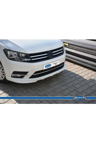 Volkswagen Caddy 2015- Ön Tampon Çıtası 3 Prç. P.Çelik 2015-