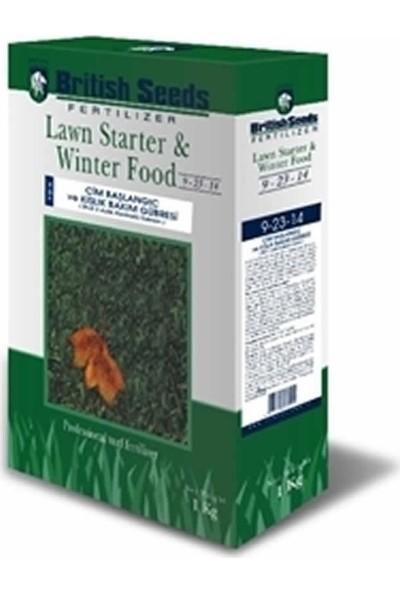 British Seeds 9-23-14 Çim Başlangıç Ve Kışlık Bakım Gübresi