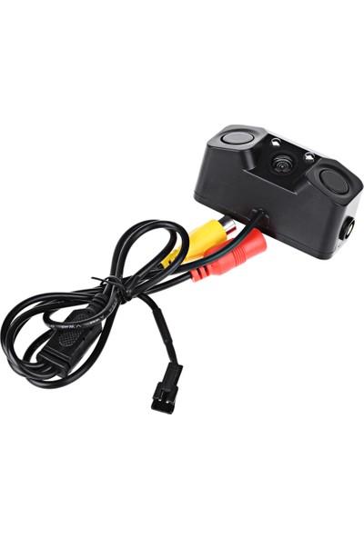 Techsmart Park Sensörü Ve Gece Görüşlü Park Kamerası