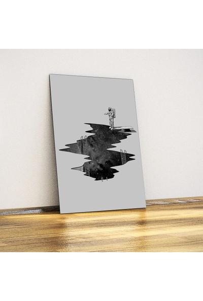Javvuz Uzay Dalışı - Metal Poster