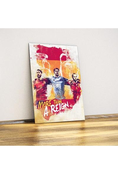 Javvuz İspanya Milli Takımı - Metal Poster