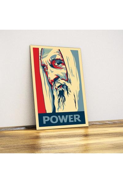Javvuz Saruman - Metal Poster