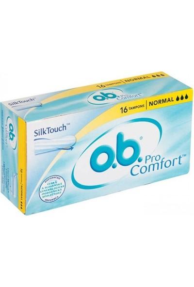 O.B. Comfort Tampon Normal 16'lı