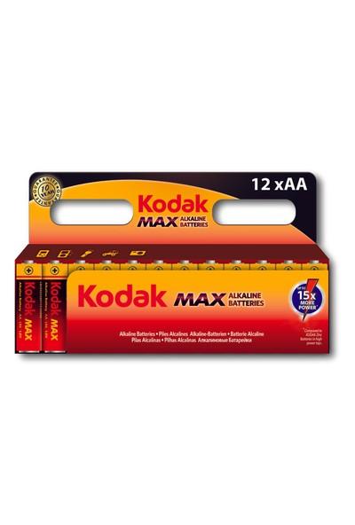 Kodak Max Serisi Alkalin Kalem Pil - 12'li Paket