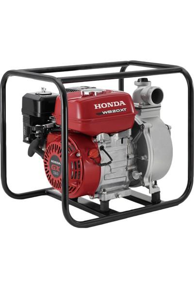 """HONDA WB 20 XT3 DRX Benzinli Motopomp (4 hp dört zamanlı Honda motor-2"""" inch çıkış-yağ ikazlı)"""