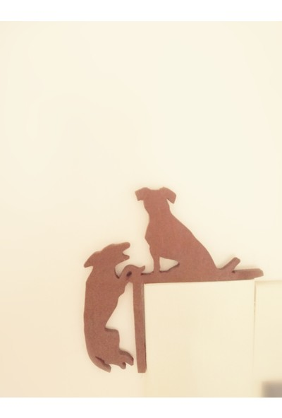 Oyuncak Ağacı Ahşap Yardımsever Köpekler Duvar Dekoru