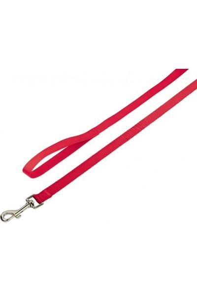 Nobby Classic Köpek Gezdirme Tasması 120 Cm X 15 Mm Kırmızı
