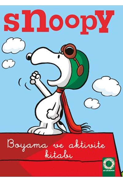 Snoopy Boyama Ve Aktivite Kitabı