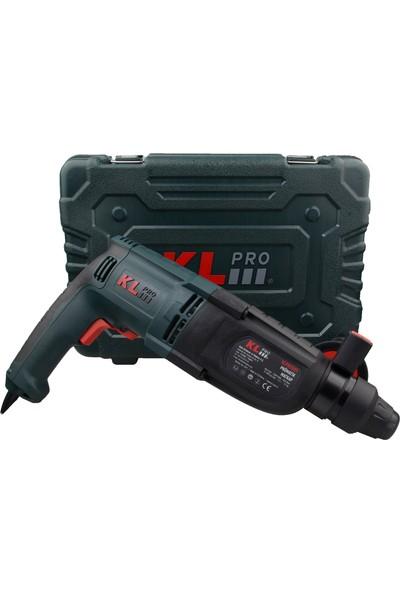 KLPRO KLPM2601 850Watt 3,2J Profesyonel SDS-Plus Kırıcı/Delici