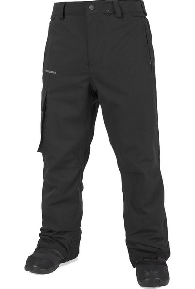 Volcom Ventral Erkek Snowboard Pantolonu Siyah