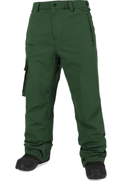 Volcom Ventral Erkek Snowboard Pantolonu Yeşil