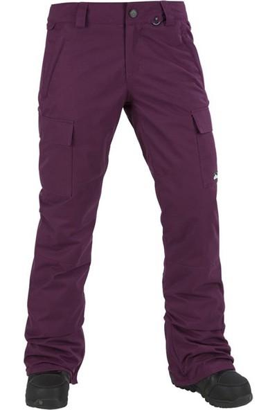 Volcom Cascade Insulated Kadın Snowboard Pantolonu Mor