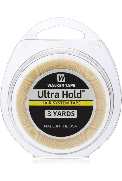 "Walker Tape 1"" X 3 Yds (108"") Ultra Hold Tape Rollprotez Saç Bandı"
