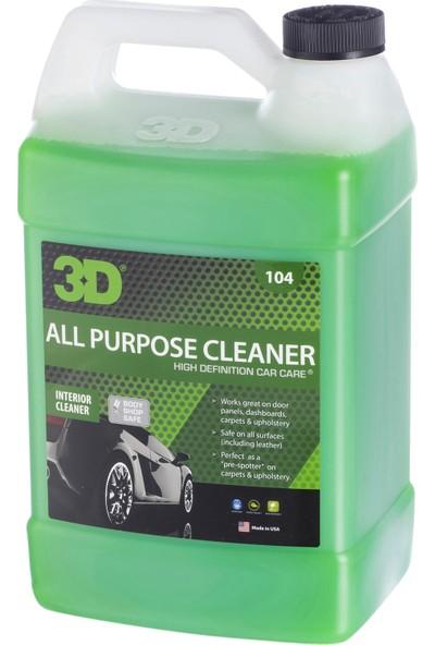 3D All Purpose Cleaner- Genel Amaçlı Temizleyici 3.79 LT. 104G01