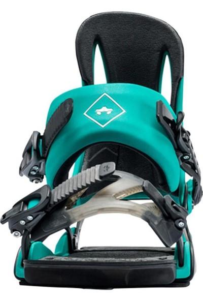 Rome Strut Teal Snowboard Bağlaması