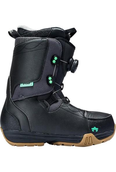 Rome Stomp Kadın Snowboard Botu Siyah