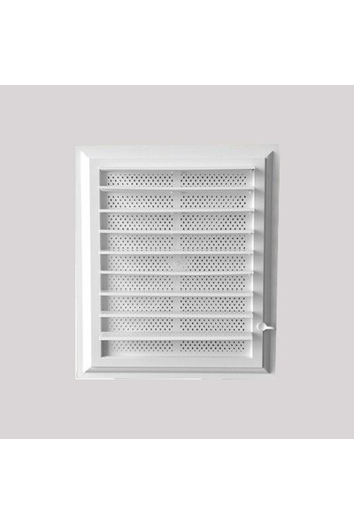 Banyo Wc Plastik Panjurlu Havalandırma Menfezi 40*50