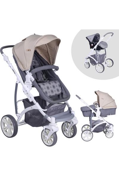 Lorelli Vista Grey Beige Travel Sistem Bebek Arabası