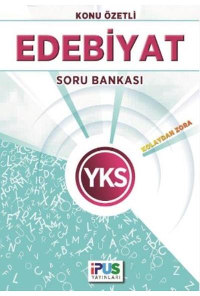 İpus Yks Edebiyat Konu Özetli Soru Bankası (Kolaydan Zora)