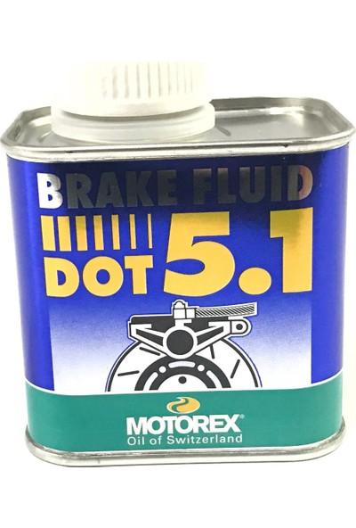 Motorex Yüksek Performans Fren Hidrolik Sıvısı Dot 5.1 250Ml