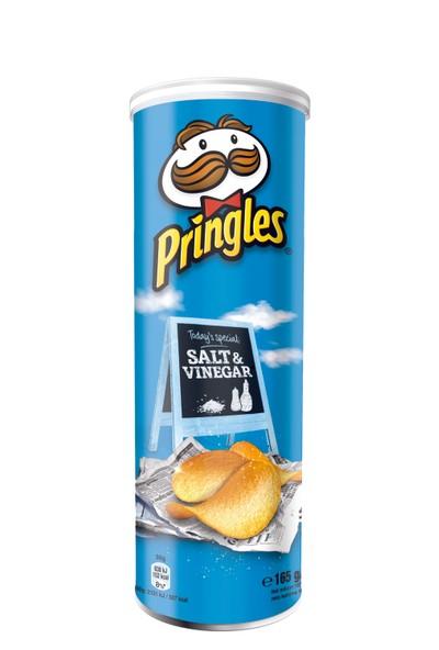 Pringles Salt & Vinegar - Sirkeli 165 gr