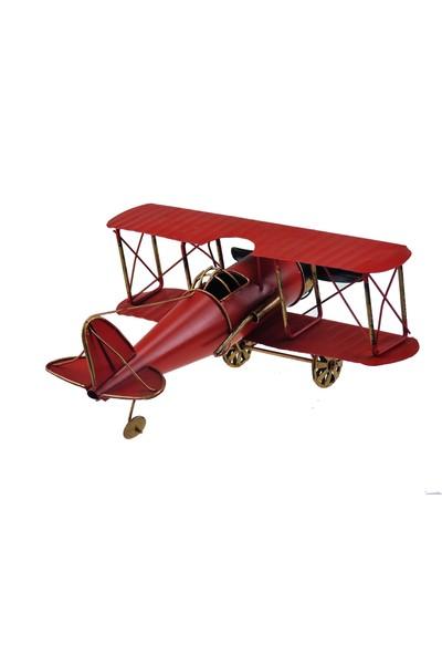İkizler Büyük Uçak 819 Kırmızı