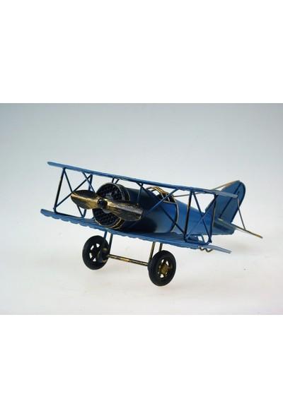İkizler Metal Uçak 8341 Mavi