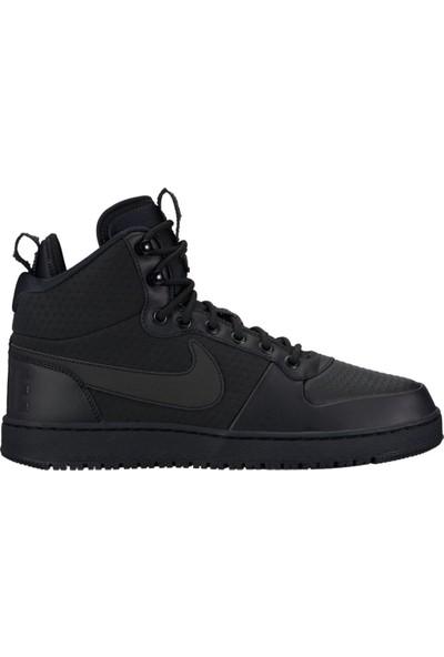 Nike Court Borough Mid Erkek Siyah Ayakkabı AA0547-002